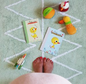 Carnet baby note